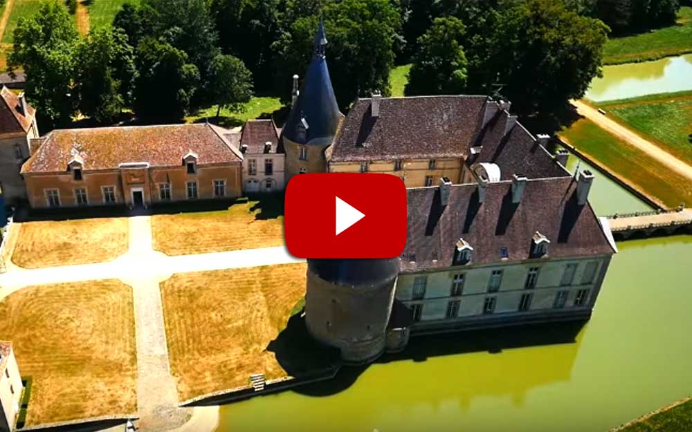 Video Chateau de Commarin